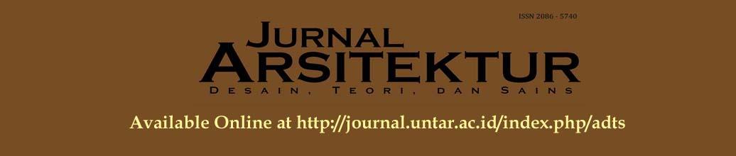 Jurnal Arsitektur : Desain, Teori dan Sains