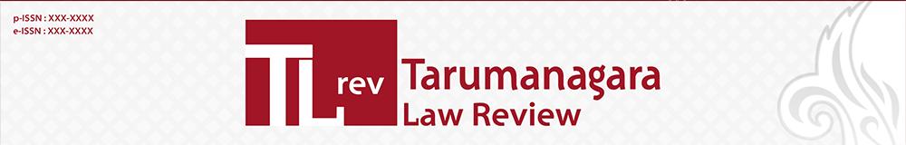 Tarumanagara Law Review